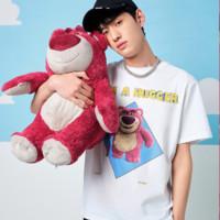PEACEBIRD MEN 太平鸟 x 玩具总动员系列 草莓熊印花T恤