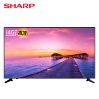 SHARP 夏普 45M4AA 45英寸 4K 液晶电视