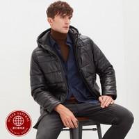 反季特卖:super.natural SNURM030500077 绵羊皮羽绒棉衣