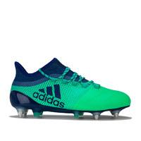 银联专享:adidas 阿迪达斯 X 17.1 Leather 男士足球鞋