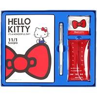 Kinbor DTB6577 凯蒂猫文具礼盒装 4件套 *3件 +凑单品