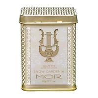 银联专享:MOR 玲珑奢华覆雪栀子花铁盒香氛精油皂 60g