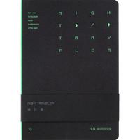 kinbor DTB40084 电影手册笔记本 B6/120张 夜行者-黑 *5件