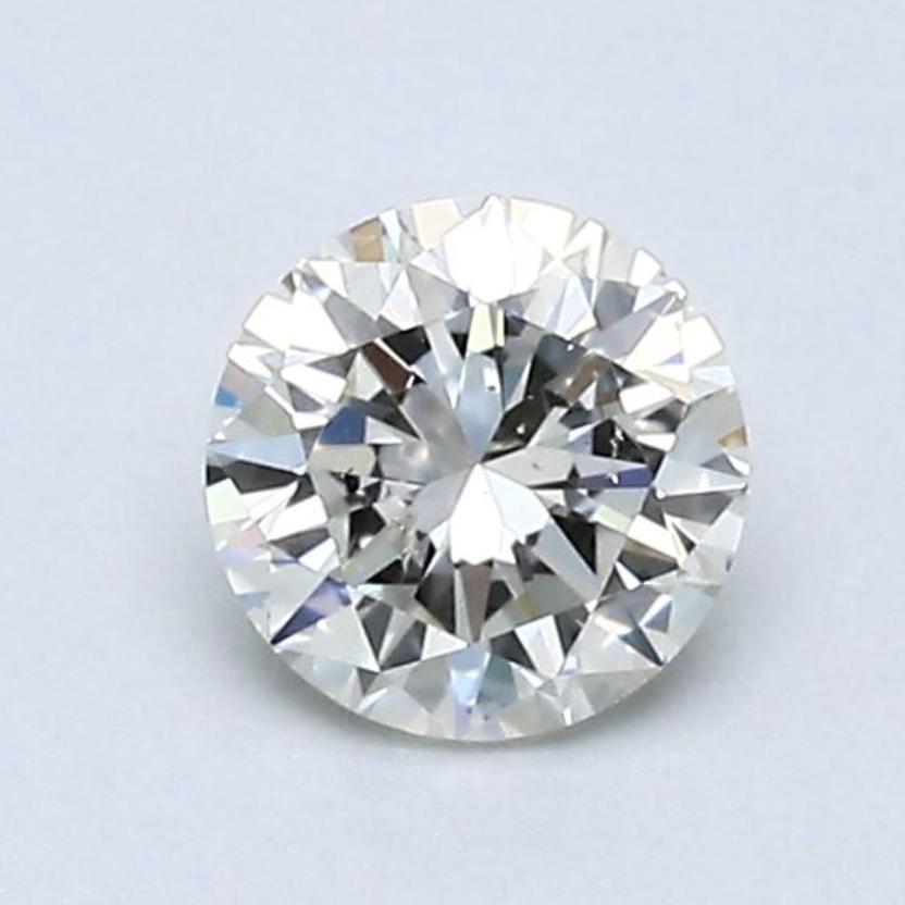 Blue Nile 0.50克拉 圆形切割钻石 良好切工 K色 SI2净度