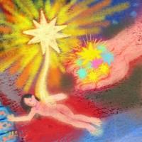 艺术品:《你梦见过吗?》李洋|数字绘画|40 x 40cm