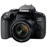 百亿补贴:Canon 佳能 EOS 800D(EF-S 18-55mm f/4-5.6)单反相机套机