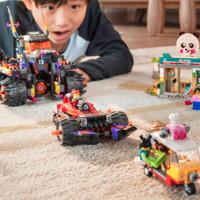 LEGO 乐高 悟空小侠系列 80011 红孩儿邪火战车