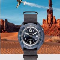 小编精选、历史低价:2000出头颜值与性能的最佳选择——HAMILTON 汉米尔顿 卡其航空系列 男士机械腕表