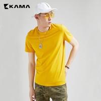 KAMA 卡玛 2219592 男士短袖T恤 *3件