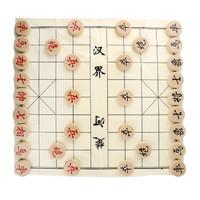 文牛牌 中国象棋 35#实木纸盒装 含塑料纸棋盘