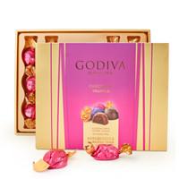 限地区:GODIVA 歌帝梵 松露巧克力礼盒 16颗装 160g  *2件