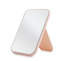 宗技 折叠台式化妆镜 北欧粉/米色