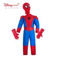 迪士尼商店 漫威复仇者联盟蜘蛛侠儿童演出服男童游戏服童装
