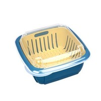 良舍匠筑 双层带盖滤水保鲜盒