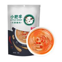 小肥羊 袋装火锅蘸料(香辣味)125g *4件
