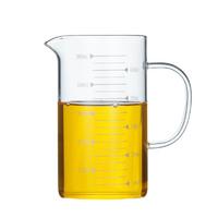 半刻 带刻度耐热玻璃杯 350ml
