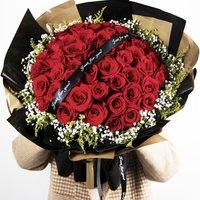 C·hui 初卉 33朵真爱玫瑰花束 (A款)
