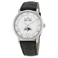 银联返现购:BLANCPAIN 宝珀 Quantieme 经典系列 6263-1127-55B 男士月相机械腕表