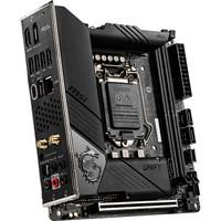 新品发售:MSI 微星 MEG Z490i UNIFY 暗影板 主板(Intel Z490/LGA 1200)