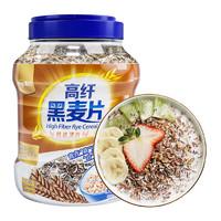 嘉谷 高蛋白黑麦片 1000g *2件
