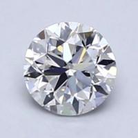 Blue Nile 0.50克拉圆形切割钻石 良好切工 F级成色 VS2净度