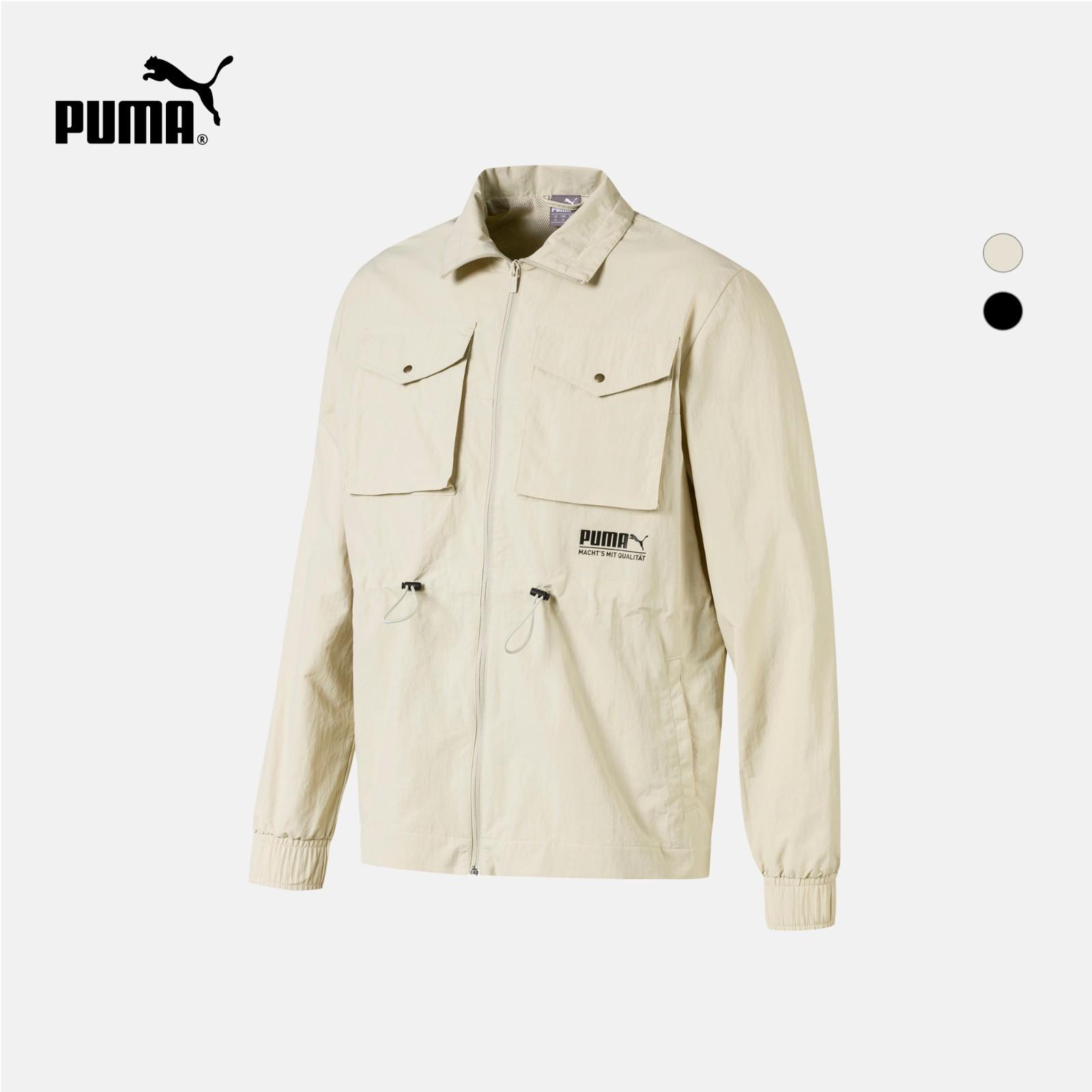 PUMA 彪马 SPORTS 596861 男子休闲拉链立领外套夹克