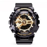 百亿补贴:CASIO 卡西欧 G-SHOCK GA-110GB-1A 男士运动手表