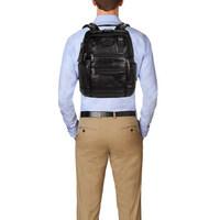 61预告:TUMI 途明 Alpha Bravo系列 092681DL2 男士皮质双肩背包