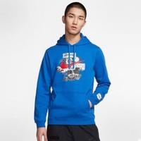 1日0点、61预告:Nike 耐克 CW4329 男士套头连帽衫