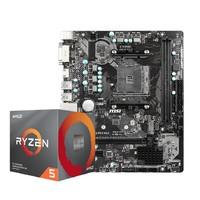 AMD 锐龙 R5-3600X 处理器 + MSI 微星 B450M-A PRO MAX 主板 板U套装