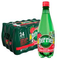 61预售:Perrier 巴黎水 天然气泡矿泉水 草莓味 500ml*24瓶