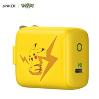 新品发售:ANKER A2615 小闪电 充电器 30W 宝可梦联名系列