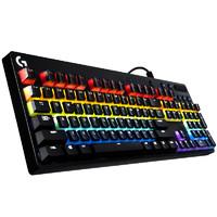 61预售:Logitech 罗技 G610 机械键盘 彩虹版 + 彩虹豆机