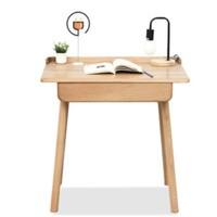 预售0点截止、61预售:VISAWOOD 维莎原木 w8032 北欧学习桌 0.65m(单抽屉)