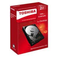 TOSHIBA 东芝 P300系列 64MB 7200RPM 机械硬盘 2TB