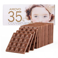 Amovo 魔吻 纯可可脂牛奶巧克力 (考维曲) 120g *10件