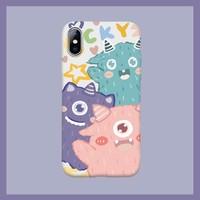 YINUO 以诺 iPhone多机型 可爱卡通手机壳 *4件