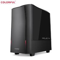 COLORFUL 七彩虹 黑鳍鲨-CBLAA1 台式机(R5-3500X、8GB、256GB、GTX1650 Super)