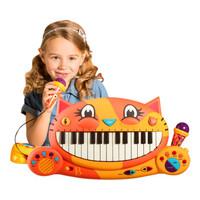历史低价:B.Toys 大嘴猫咪电子琴 +凑单品