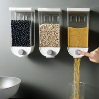 卡沐森 壁挂按压式谷物收纳盒 1500ml 2个装