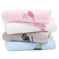 grace 洁丽雅 W0265 儿童卡通毛巾 6条装