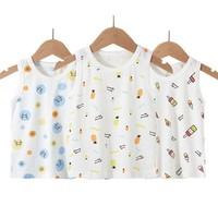 泰熊乐园 儿童纯棉小背心 3件装