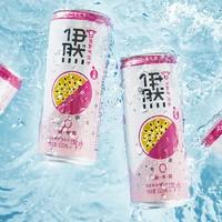限地区:伊利伊然 百香果味气泡水 320ml*6罐 *5件