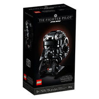 百亿补贴:LEGO 乐高 星球大战系列 75274 钛战斗机飞行员头盔