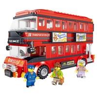 移动专享:汇奇宝 BRT双层巴士 398颗粒