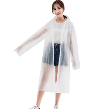 YUHANG 雨航  VA615 半透明磨砂雨衣 均码