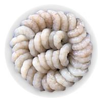 京东PLUS会员:渔匠的鱼 大白虾仁 约61-79只 400g *3件