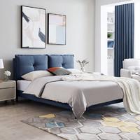 61预售:CHEERS 芝华仕 C038 双靠包可拆洗布艺软床 1.8m