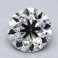 补贴购:Blue Nile 1.02克拉圆形切割钻石 良好切工 H级成色 SI2净度