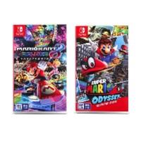 补贴购:Nintendo 任天堂 《马力欧卡丁车8 豪华版》或《超级马力欧奥德赛》国行实体卡带